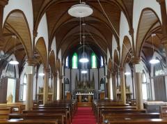 美しい木造建築の教会