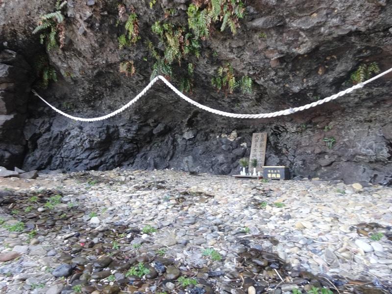 百済の第25代国王「武寧王」が誕生したとされるオビヤ浦洞窟