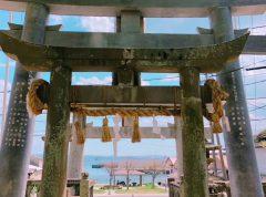海の安全を守る神が祀られる田嶋神社