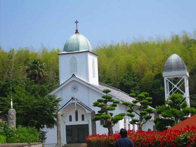 昭和4年に平戸から移築したカトリック教会