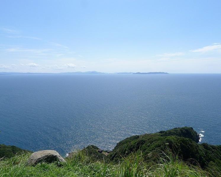 島の最高所にある「番所の辻」からの展望