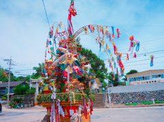 小川島祇園祭の山笠